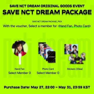PUFF SAVE NCT DREAM GOODS
