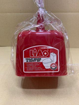 Liao Toilet Brush & Caddy Set