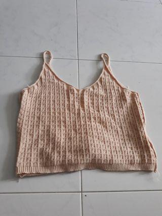 Knit bralet