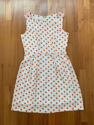 Pre-loved Vintage Polka Dot Dress