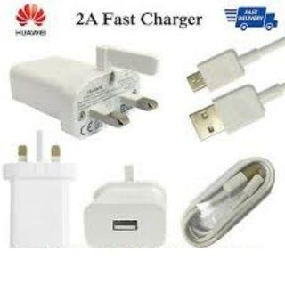 🚚 100% Genuine Huawei Super Fast Plug and huawei cable
