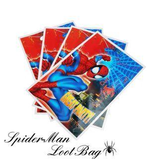 🕷️10 Pcs Spider-Man Loot Bag/ Party Loot Bag