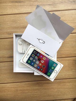 #mauthr Jual iphone 6s 64gb Fullset Mulus like new