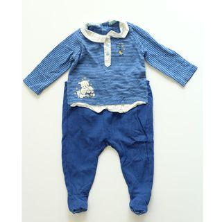 SERGENT MAJOR BLUE SLEEPSUITS