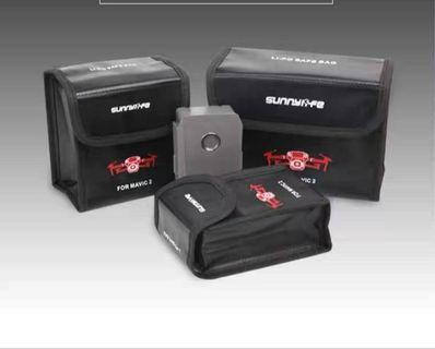 Safety bag for Mavic 2 battery