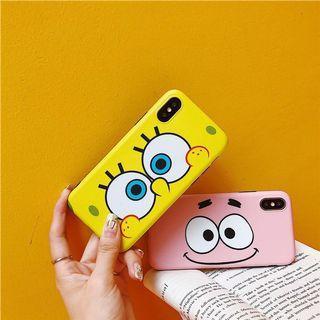 Spongebob and patrick silicone case