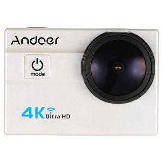 """Andoer Ultra HD Action Sports Camera 2.0"""" LCD 16MP 4K 25FPS 1080P 60FPS 4X Zoom WiFi 25mm 173 Degree Wide-Lens Waterproof 30M Car DVR DV Cam Diving Bicycle Outdoor Activity -0026"""