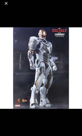 "Hot Toys Iron Man 3 Mark XXXIX ""Starboost"""