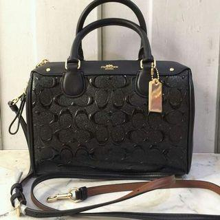 READY STOCK AUTHENTIC COACH BENNET EMBOSSED
