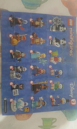 Lego 71024 迪士尼人仔 ($90~三隻)/一套