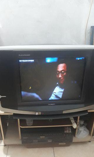 Tv sharp bagus