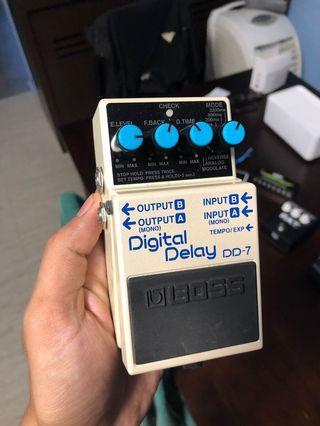 🚚 Boss DD-7 Digital Delay