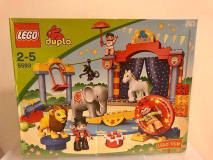 LEGO DUPLO LEGOVille Circus (60pcs) Kids age 2-5