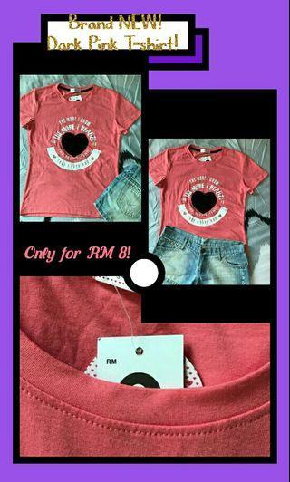 Dark pink tshirt