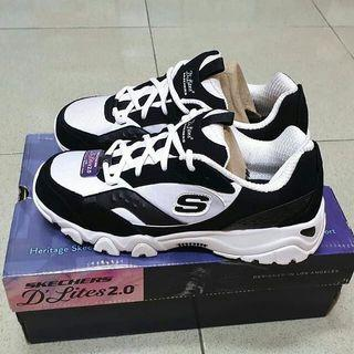 Skechers d'lites 2.0 with air cooled memory foam