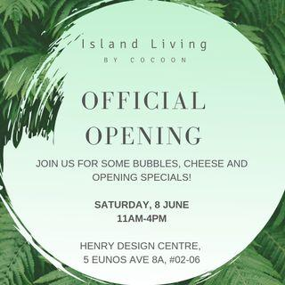 Official opening of our showroom!
