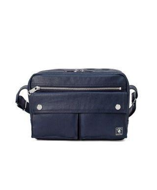 Navy Porter International Shoulder Bag