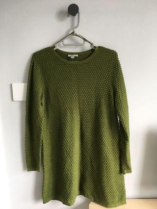 COS green sweater knitwear 青色 上衣 top