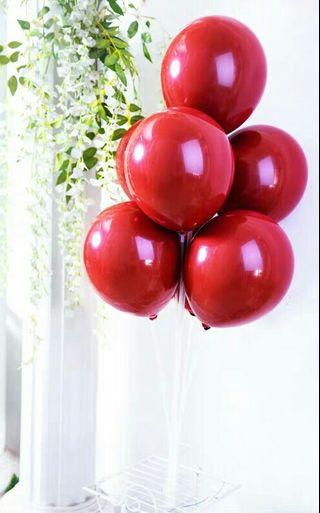 Stand Balloon Set - Red only
