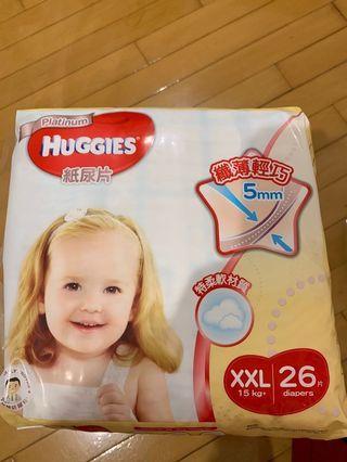 Huggies 尿片 XXL