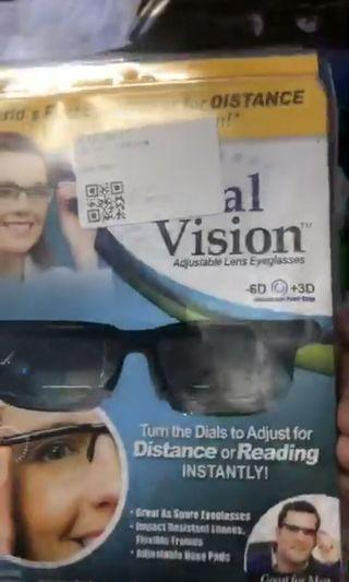 Adjustable degree spectacle