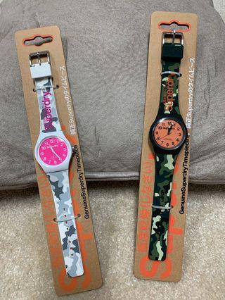 Authentic Superdry His and Her Watch set