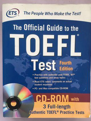 The Official Guide to the TOEFL Test 托福官方手冊第四版附光碟
