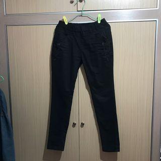 🚚 韓版黑色長褲