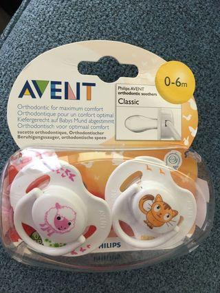 🚚 Philips Avent Pacifiers