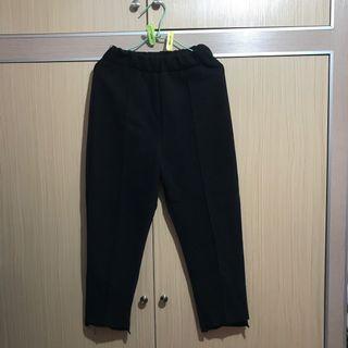 🚚 棉質黑色長褲