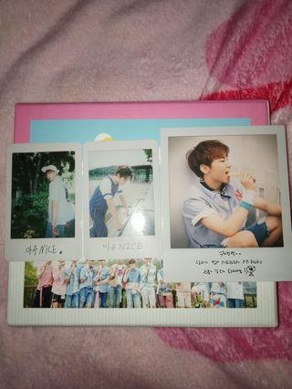 Seventeen Album Love and Letter Repackage (Very Nice) +POSTER AND FREE PHOTOCARD!