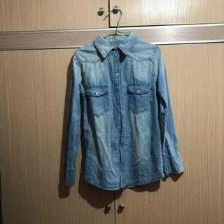 🚚 淺藍襯衫(可遮陽)