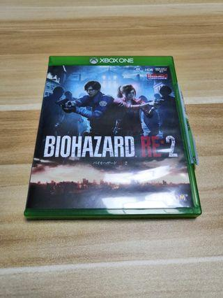 Bio Hazard Re 2 xbox one
