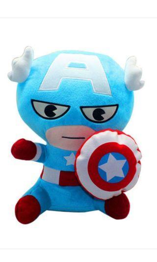 MARVEL AVENGERS kawaii captain America stuffed toy plush toy
