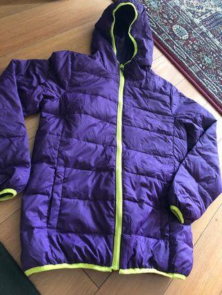 Down Winter hoodie Jacket M