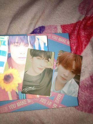 Seventeen Album You Make My Day (Set The Sun Version) + POSTER AND FREE PHOTOCARD!