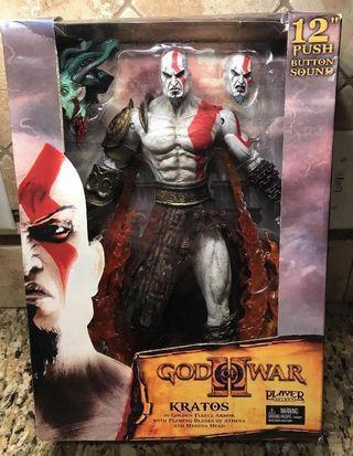 "[New] PS2 Neca 12"" God of War II Kratos"