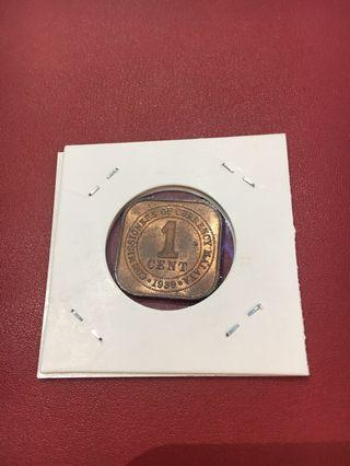King George VI Emperor Coins with Rainbow Sheen