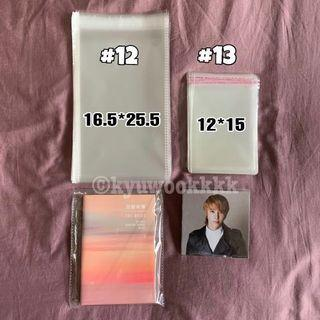 [NEW SIZES] Resealable Sleeves for albums and jacket cards