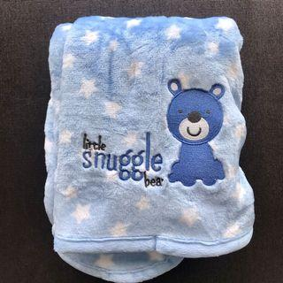 Just One You made by Carter - Little Snuggle Bear (blue) Baby Blanket