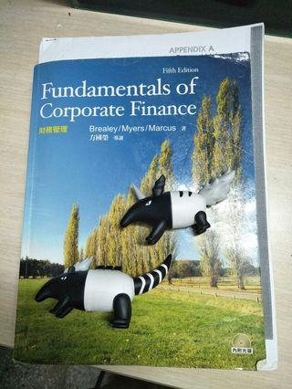 🚚 Fundamentals of Cooperate Finance