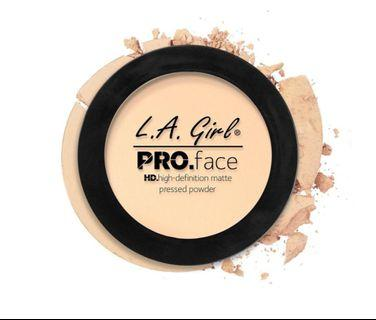 L.A Girl Pro Face HD. high-definition matte pressed powder