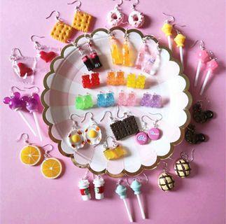 PREORDER food earrings