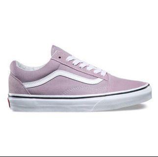 Vans old skool粉紫💜