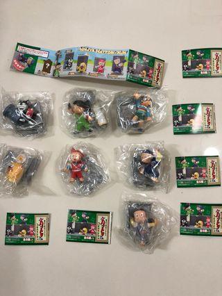 超絕版 忍者小靈精 扭蛋 全新一套七隻連隱藏版及特別版