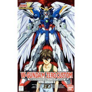 Gundam W Waltz - HG 1/100 XXXG-00W0 Wing Gundam Zero Custom