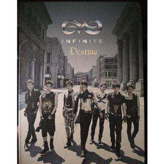 INFINITE 2ND SINGLE ALBUM DESTINY