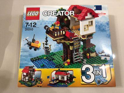 Lego 31010 樹屋 全新