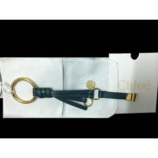 全新【專櫃正品】Chloe' 經典款Olly 孔雀綠 真皮手環 真皮手鍊 附購證 配件完整 Hermes Chloe