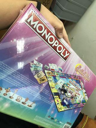 Monopoly 大富翁 美少女戰士全球美國限定版